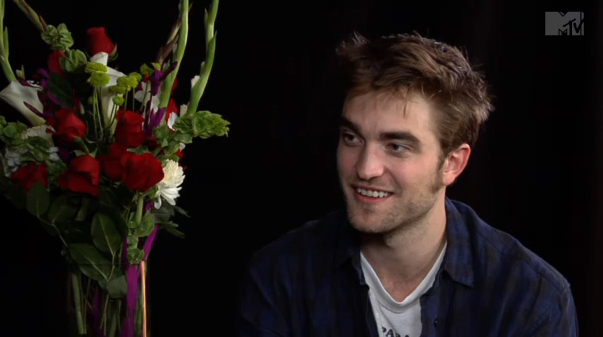 Robert Pattinson beim Interview!