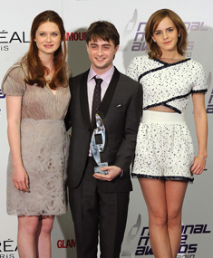Bonnie Wright, Emma Watson und Daniel Radcliffe reden über Harry Potter