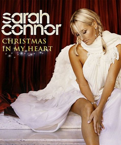 Das Cover zu Sarahs  ''Christmas In My Heart''