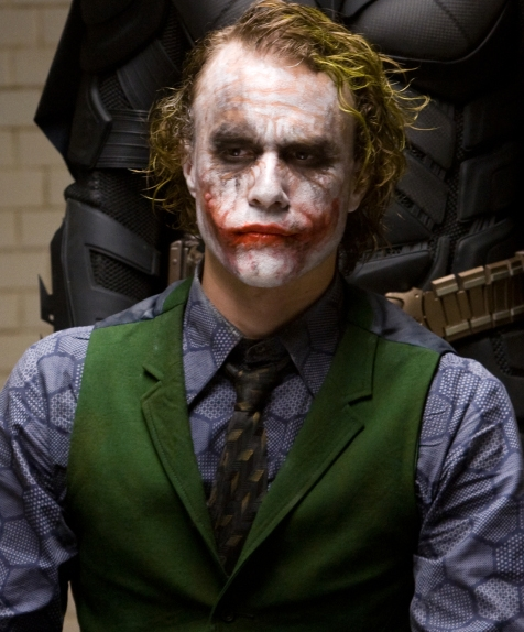 Heath Ledger als Batman-Gegner Joker!