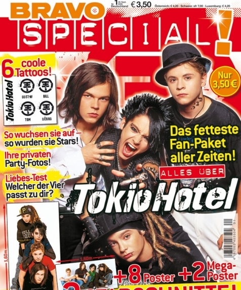 Sonderheft zu Tokio Hotel (September 2005)