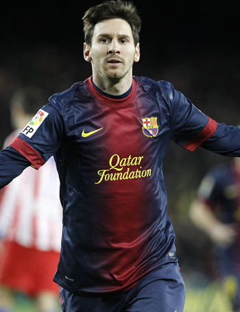 Barcas Top-Star Leo Messi