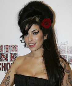 Amy Winehouse mit Beehive
