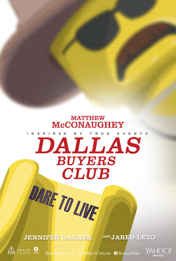 "Lego Version von ""Dallas Buyers Club"""