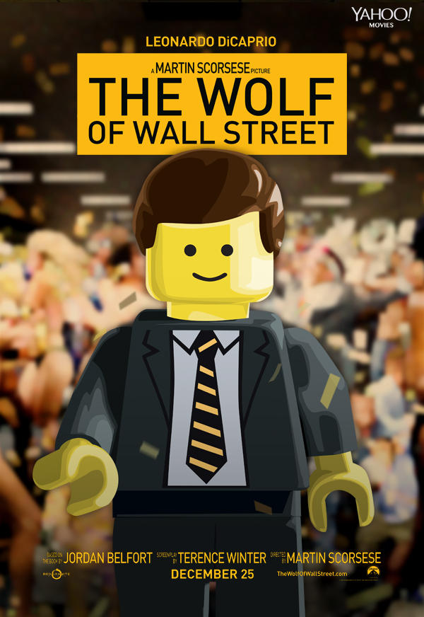 "Lego Version von ""The Wolf of Wall Street"""