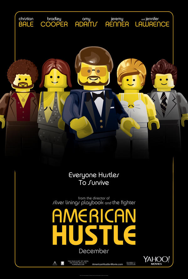 "Lego Version von ""American Hustle"""