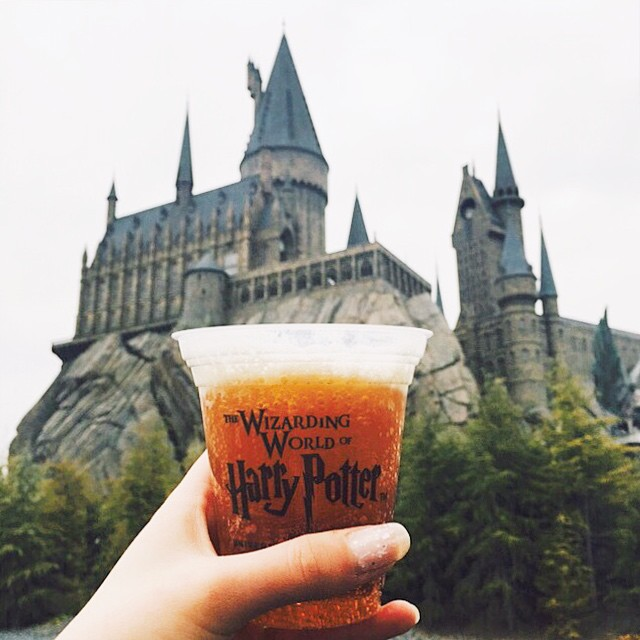 "Butterbier im ""Harry Potter""-Park in Orlando (USA)"
