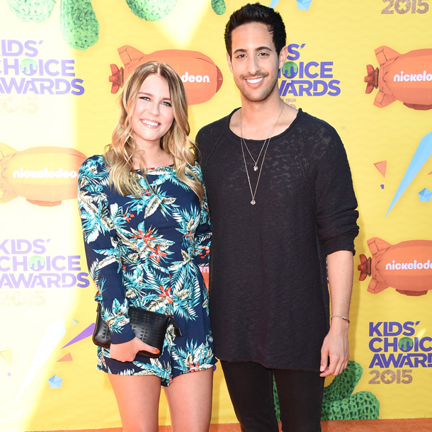 Dagi Bee Sami Slimani Kids Choice Awards