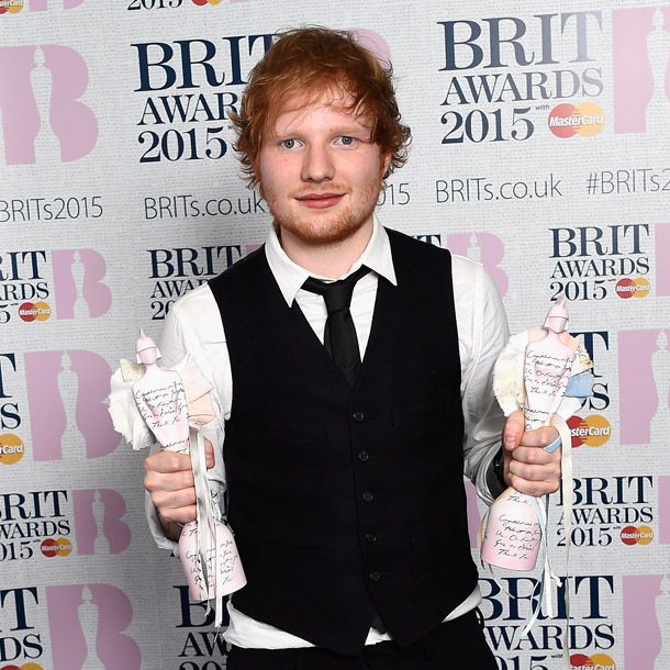Ed Sheeran Brit Awards