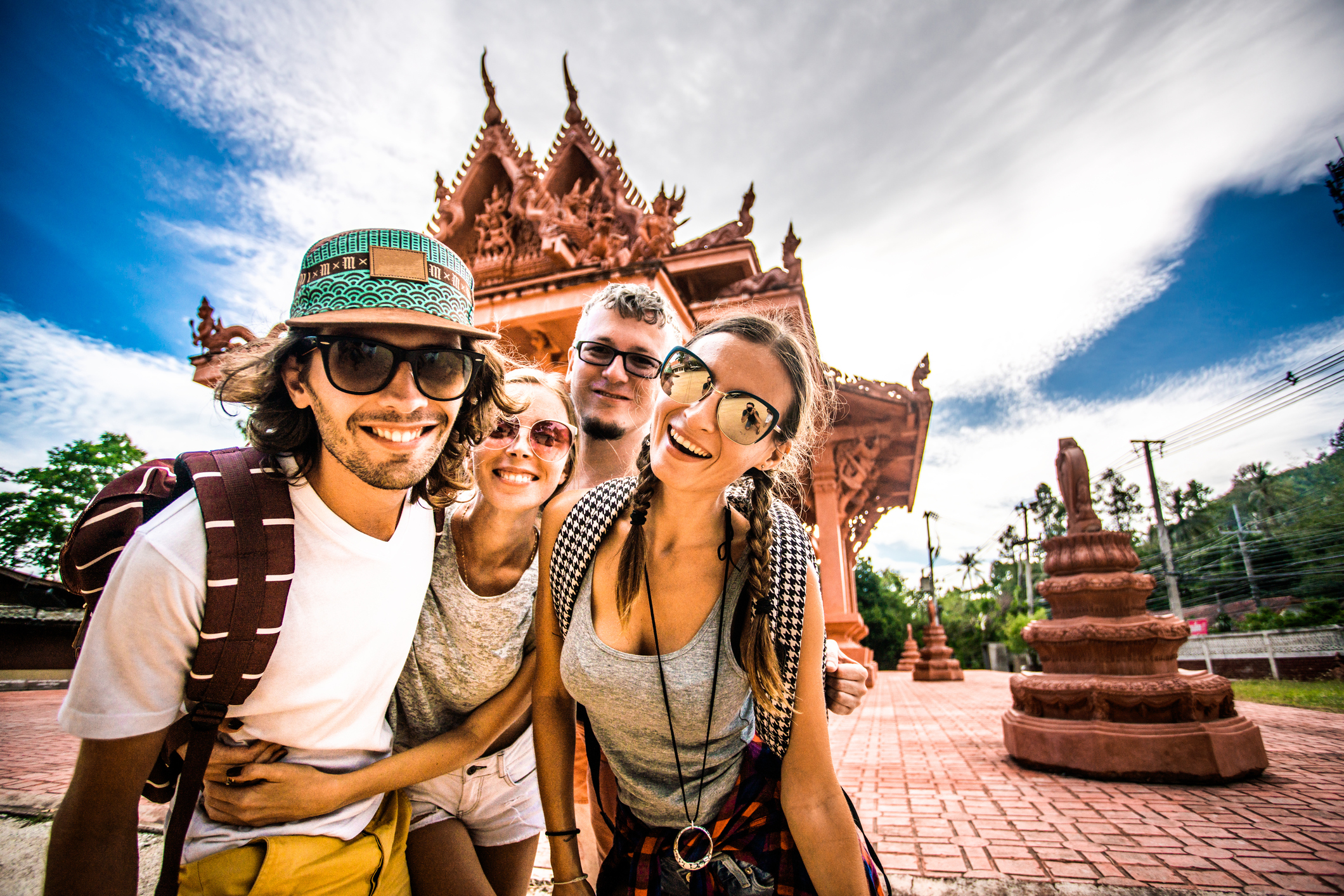 Backpacker in Thailand