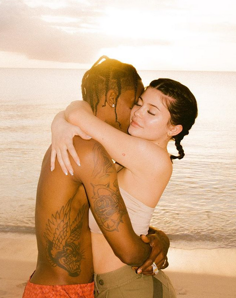 Kylie Jenner und Travis Scott sind total in Love