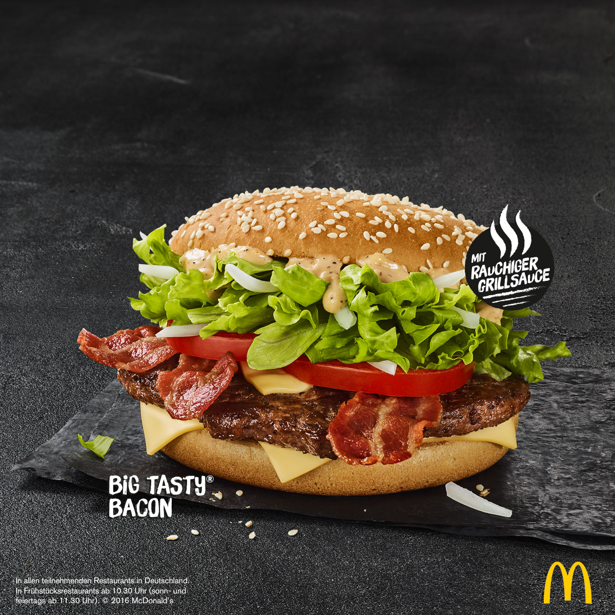 McDonalds: Big Tasty Bacon immer im Sortiment