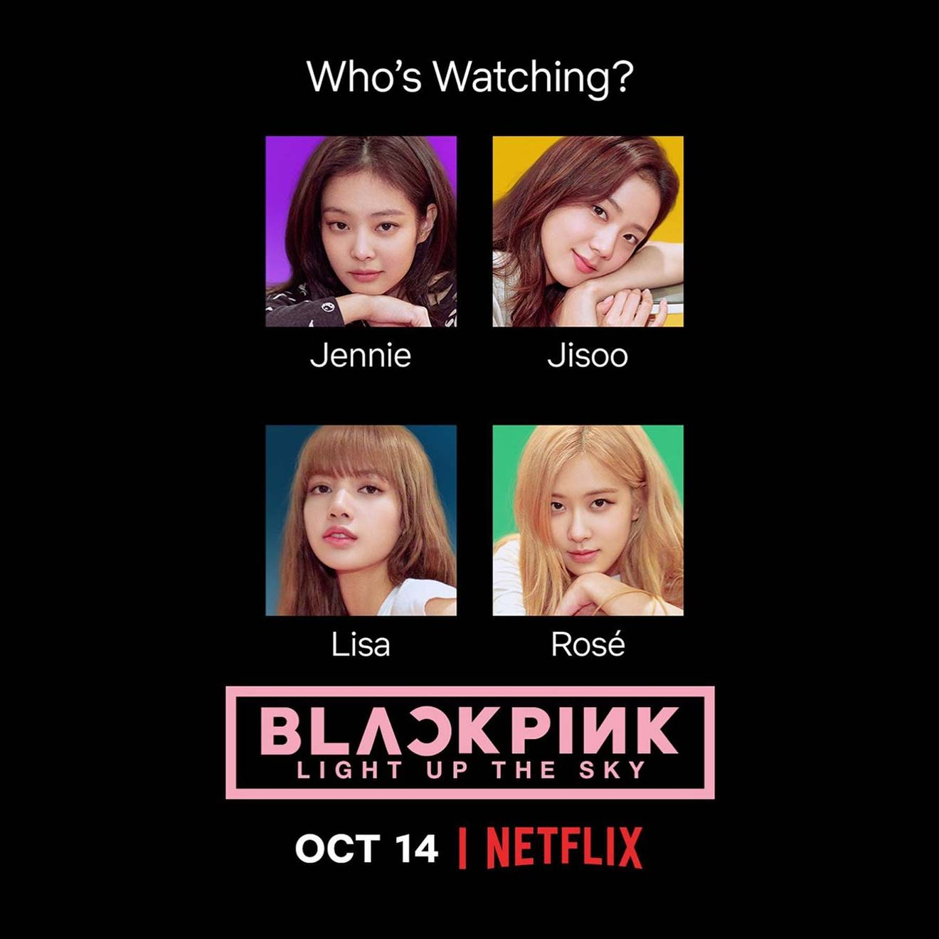 "Netflix: Doku ""BLACKPINK: Light Up The Sky"" erscheint im Oktober"