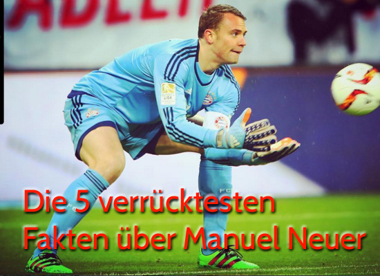 Manuel Neuers Spitzname ist schnapper