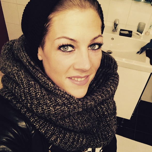 Saskia Becks hat ein No-Make-up-Selfie gepostet