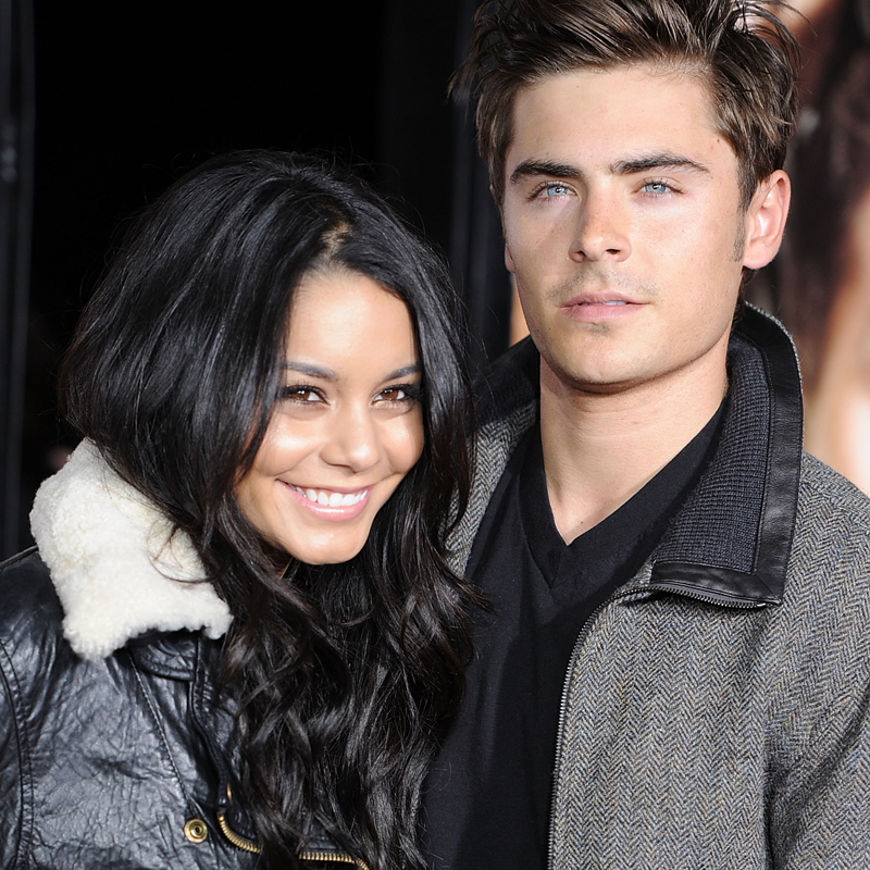 Are vanessa hudgens and zac efron join. was
