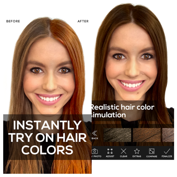 Frisuren-App-Hair-Color-Studio