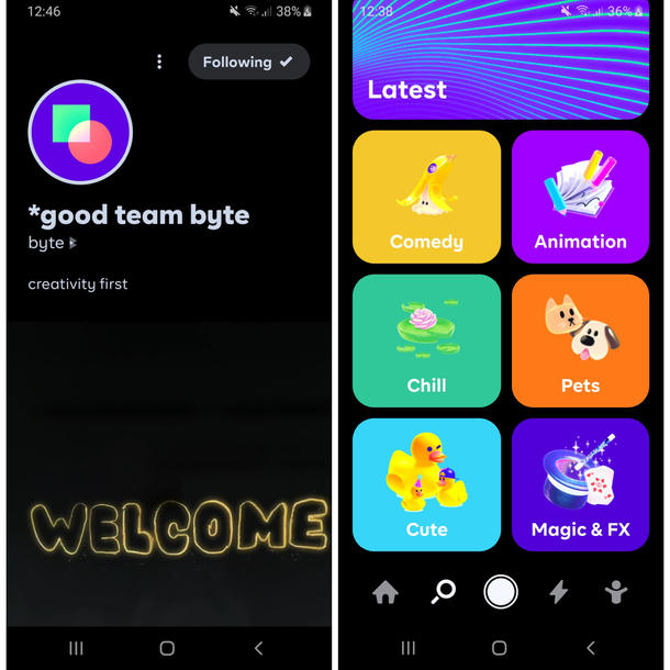 App Byte Screenshots