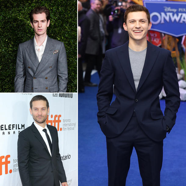 "Tom Holland, Andrew Garfield & Tobey Maguire: Zusammen in ""Spider-Man 3""?"