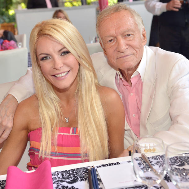 hugh hefner playboy mansion chrystal sarah nowak