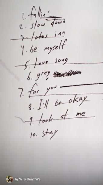 """Daniel Seavey leaked Tracklist von """"The Good Times And The Bad Ones"""""""