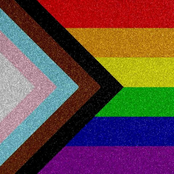 LGBTQ+-Flag: Was bedeutet sie? - Progress-Flag