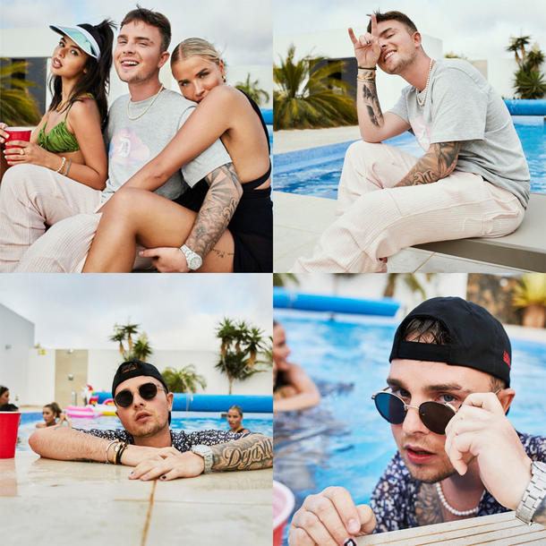 """Mike Singer: Pool-Party-Fotos aus deem """"Forever Young""""-Musikvideo"""