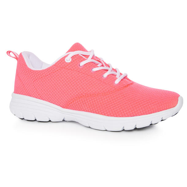 neon coral woven trainer ps12 eu13 in store 15