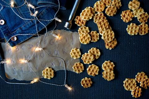 Stranger Things Waffel Cookies