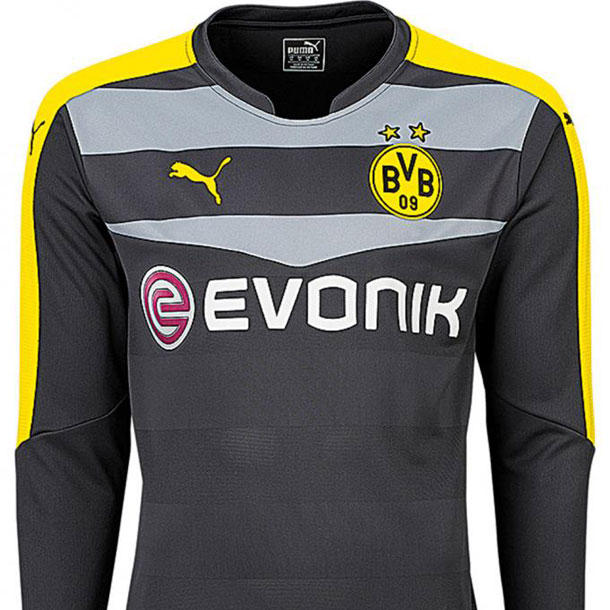 borussia dortmund so sehen die neue trikots aus bravo. Black Bedroom Furniture Sets. Home Design Ideas
