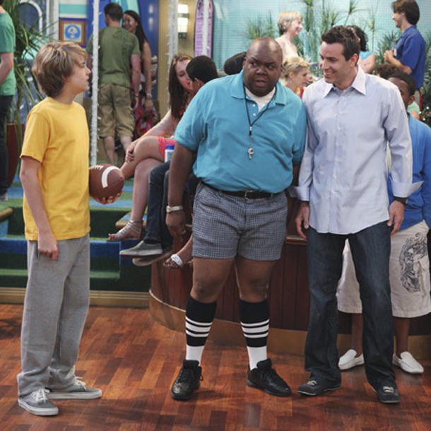 Zack & Cody an Bord Windell Middlebrooks