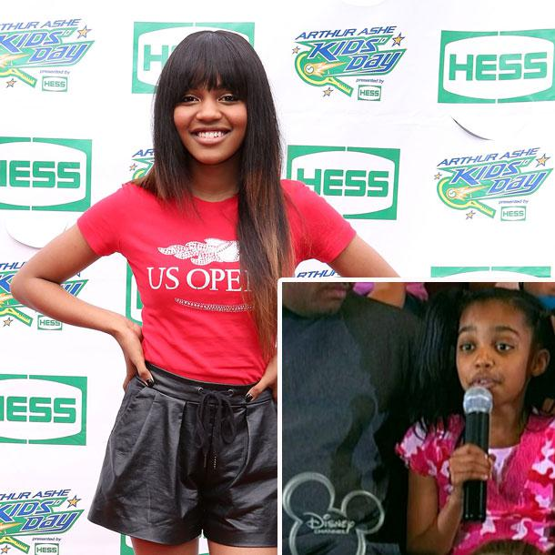 China Anne McClain bei Hannah Montana