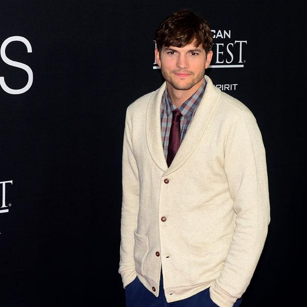 Ashton Kutcher: 1. Mal war ein Fail