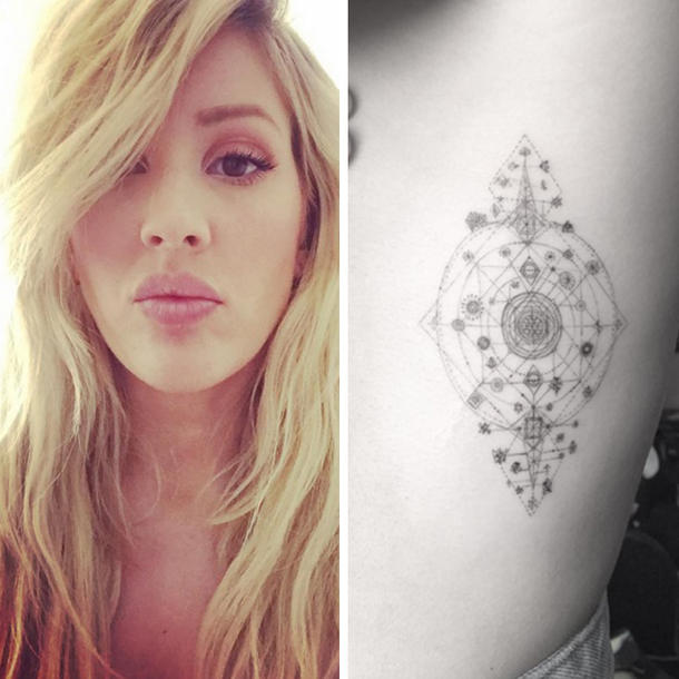 Ellie Goulding hat ein neues Tattoo