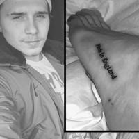 Brooklyn Beckham hat ein neues Tattoo