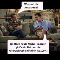 "Two And A Half Men"" Sprüche: Charlie der Alki"