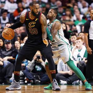 Boston Celtics vs Cleveland Cavaliers NBA Finals LeBron James
