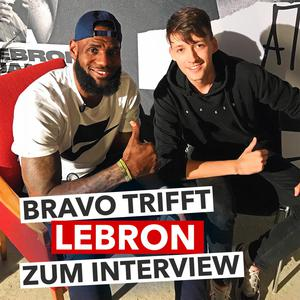 BRAVO trifft NBA-Star LeBron James zum Interview