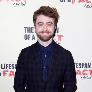 "Daniel Radcliffe hier bei der ""The Lifespan of A Fact"" Party in New York."
