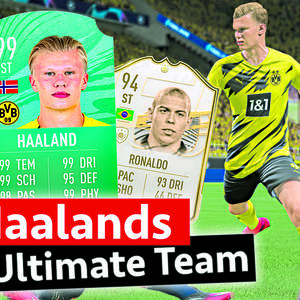 Erling Haalands FIFA Ultimate Team