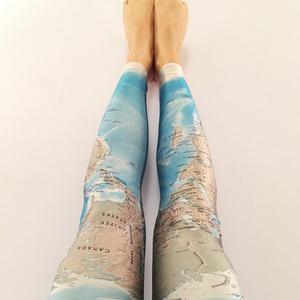 Leggings the.shark.inside.of.us