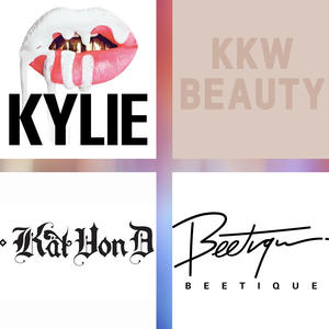 Kylie Cosmetics, KKW Beauty, Kat Von D Beauty und Beetique