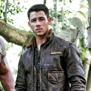 "Nick Jonas in seiner Rolle als ""Jefferson 'Seaplane' McDonough"" in ""Jumanji"""