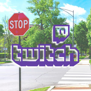 Twitch news stoppschild
